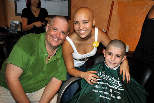 The Room was Electric: A St. Baldrick's Event in Hollywood ...