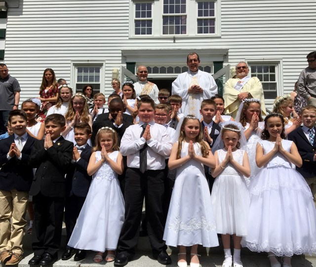 Our Grade 2 Students Receive Their First Holy Communion At St Bernards Parish At St Camillus Church They Prepare For This Special Sacrament Throughout