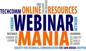 STC San Diego Webinar Mania