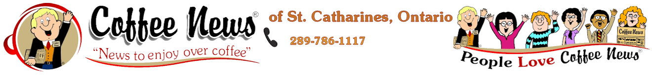 Coffee News® of St Catharines, Thorold, NotL