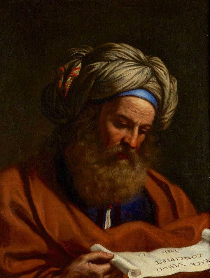 The Prophet Isaiah, Benedetto Gennari, 17th century, Burghley collection