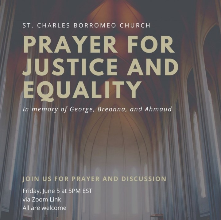 Follow-up Materials to Prayer Service on Justice and Equality