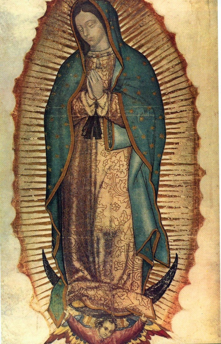 Our Lady of Guadalupe on the Tilma of Saint Juan Diego