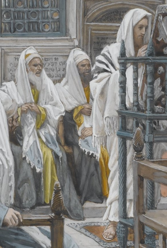 Jesus Unrolls the Book in the Synagogue, James Tissot, 1886-1894, Brooklyn Museum