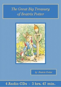 Great Big Treasury of Beatrix Potter Audiobook CD Set - St. Clare Audio