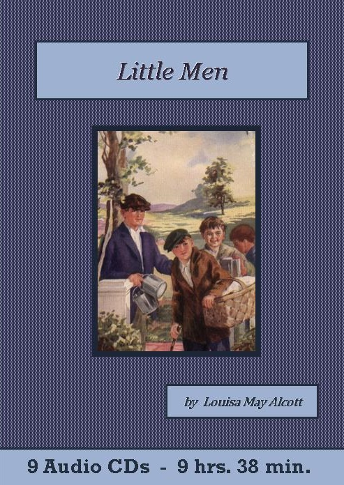 Little Men Classic Audiobook CD set - St. Clare Audio