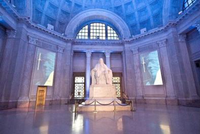 Franklin Institute statue