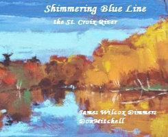 Shimmering Blue Line