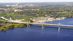 St. Croix River bridge crossing - artist rendering