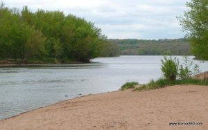 St. Croix River at Wild River State Park
