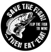 Save the Fish coaster