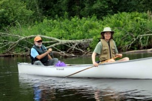 "Canoeing on the St. Croix River Association's ""Be Moved"" trip down the whole river"