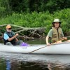 """Canoeing on the St. Croix River Association's """"Be Moved"""" trip down the whole river"""