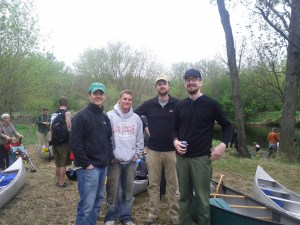 The crew of our two canoes.