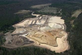 Tiller Corp's Grantsburg frack sand mine.