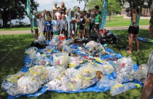 River Clean-Up Volunteers