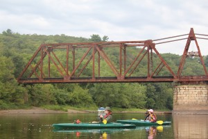 Kayaking and birding on the St. Croix River