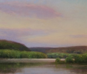 A painting of the St. Croix River by Christopher Copeland