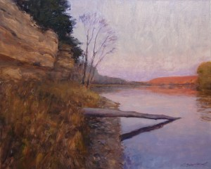 St. Croix River painting by Christopher Copeland
