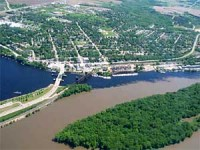 Confluence of the St. Croix and Mississippi Rivers