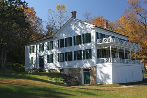 Arcola Mills main house, built in 1847