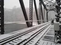 Hudson railroad bridge, Tim Ochocki