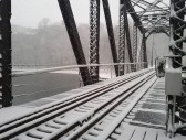 Hudson railroad bridge, Tim Ochocki