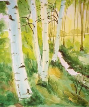 Painting by Bor-Jiin Mao