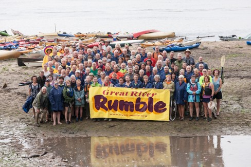 2012 River Rumble paddlers