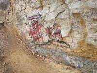 Vandalism at the Boom Site