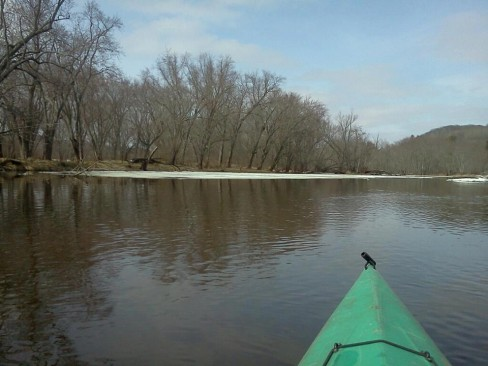 Kayaking in Dead Man's Slough