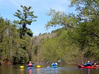 Sign up now to spend six days paddling down the Namekagon this summer