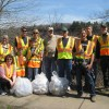 Photos: Volunteers kick off the season with cleanup events at both ends of the Riverway