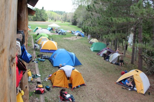 A few of our tents.