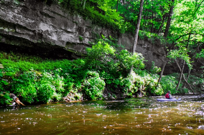 Apple River canyon, photo by John Schletty