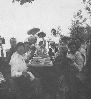 Pearl Spring Camp picnic, 1911