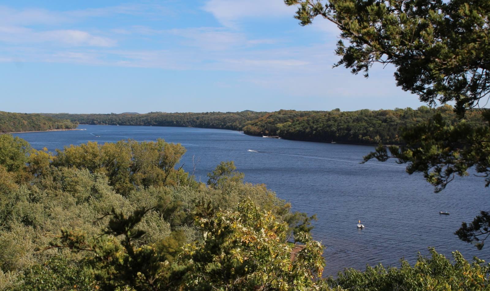 St. Croix River seen from Carpenter Nature Center
