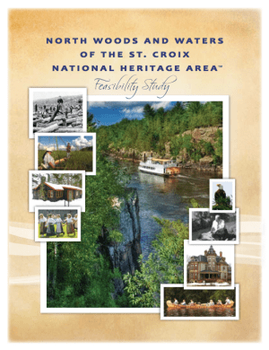 Heritage Initiative Feasibility Study cover
