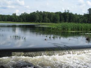 Namekagon River at Namakagon Lake Dam