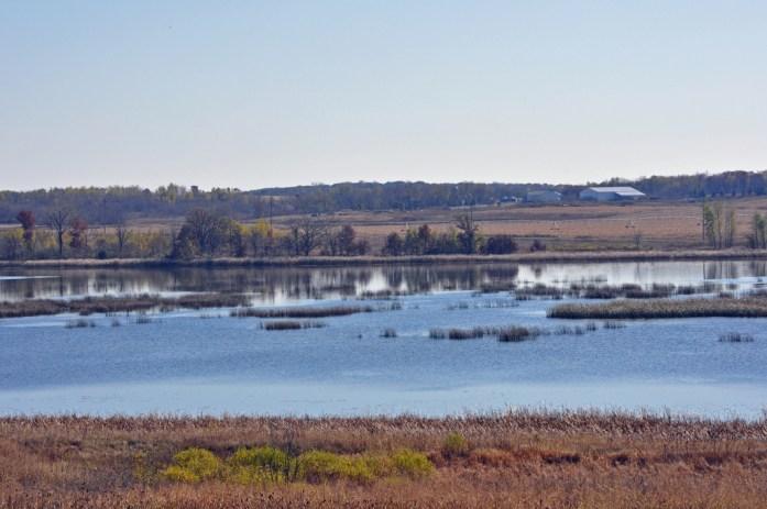 Oak Ridge Lake at St. Croix Wetland Management District. Photo by Tina Shaw/USFWS.