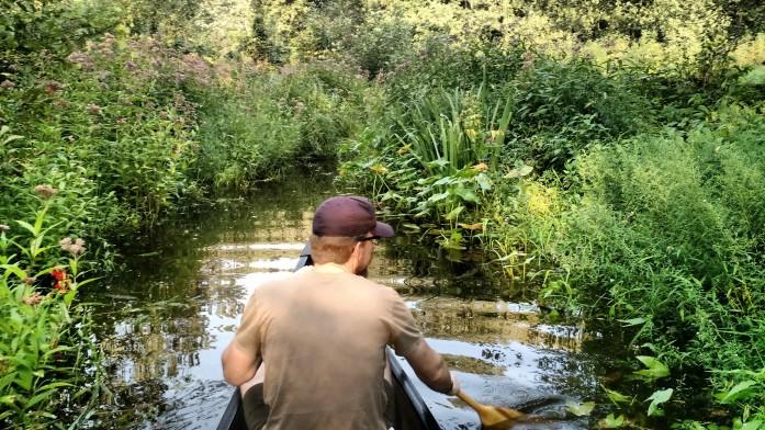Exploring St. Croix River backwaters