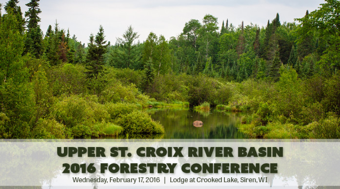 St. Croix River forestry conference flier