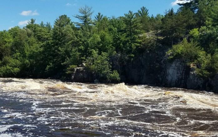 st croix river dalles flood july 2016
