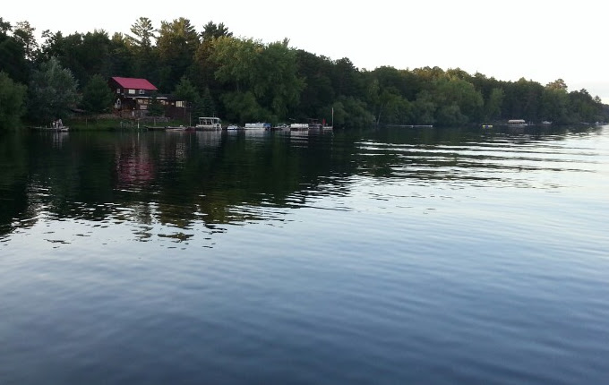 The Buck N Bass on Middle Eau Claire Lake
