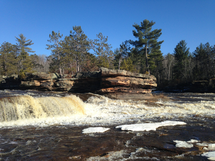 Kettle River at Big Spring Falls