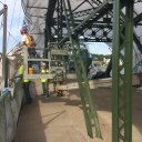 See the Stillwater Lift Bridge's new, old color as restoration project makes progress