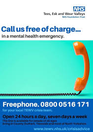 In a mental Health Emergency you can call ………