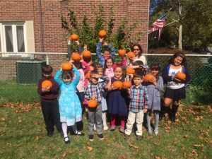 Kids Pumpkin Patch Activity
