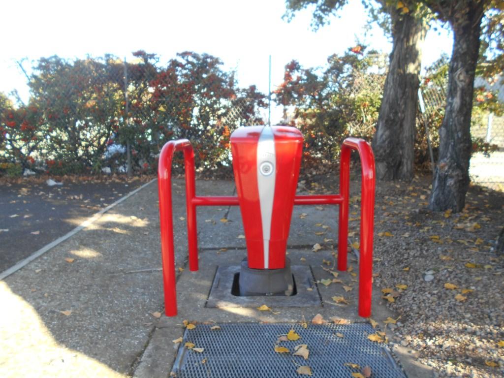 Estrecho 2 - Barriere protection poteau incendie