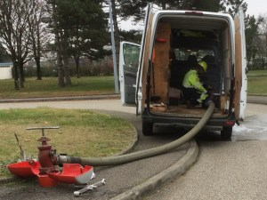 Maintenance poteau incendie